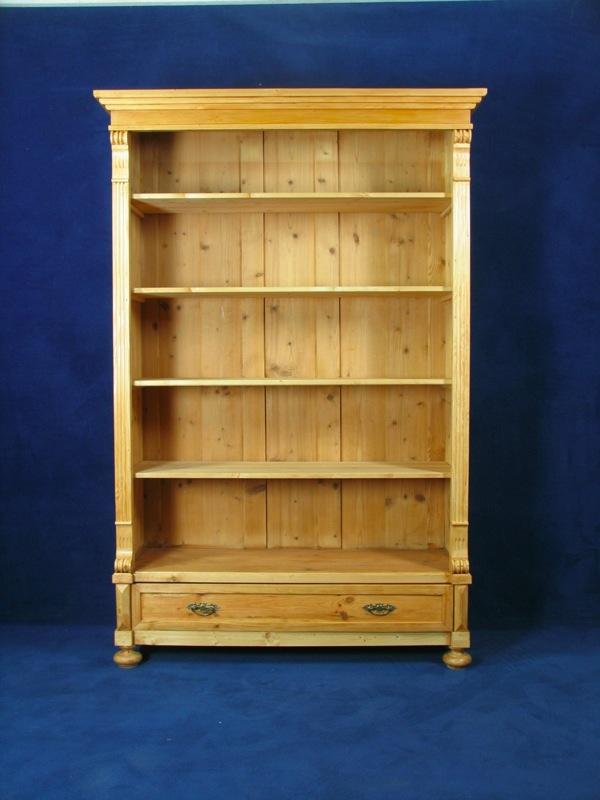 b cherregal gr nderzeit um 1890 in weichholz ebay. Black Bedroom Furniture Sets. Home Design Ideas